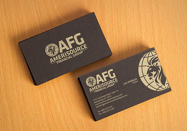 Business Card Design for AFG