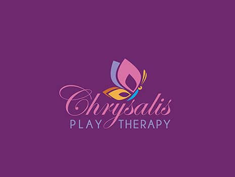 Custom Logo Design for Chrysalis Play Therapy