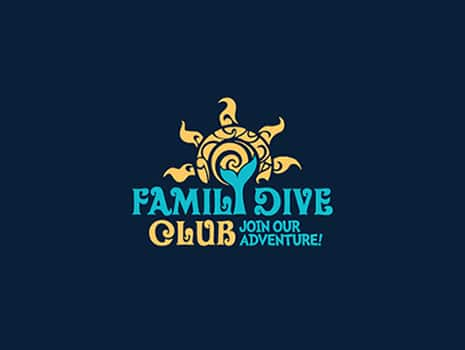 Custom Logo Design for Family Dive Club