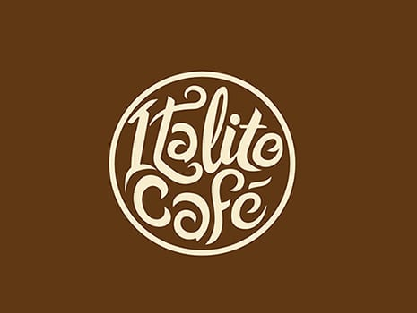 Custom Logo Design for Italite Cafe