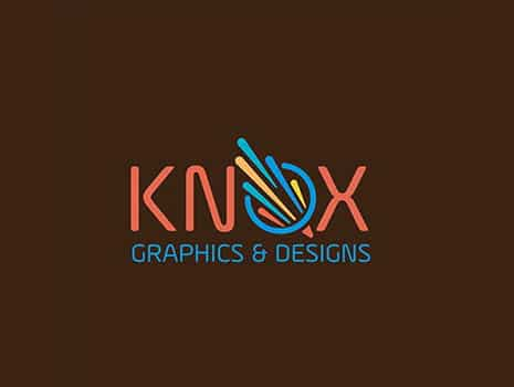 Custom Logo Design for Knox Graphics & Design