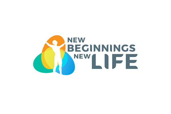 Custom Logo Design for New Beginning New Life