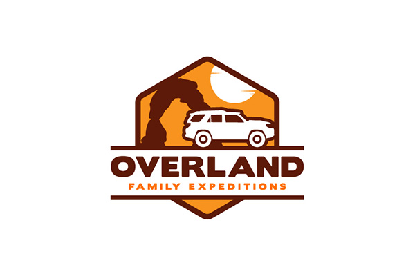 Custom Logo Design for Overland Family Expeditions