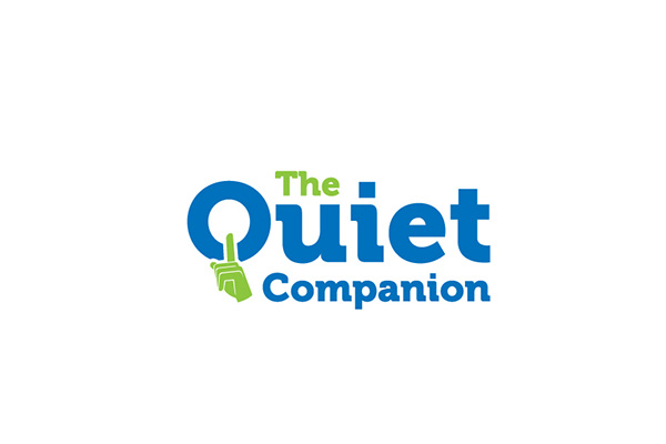 Custom Logo Design for The Quiet Companion