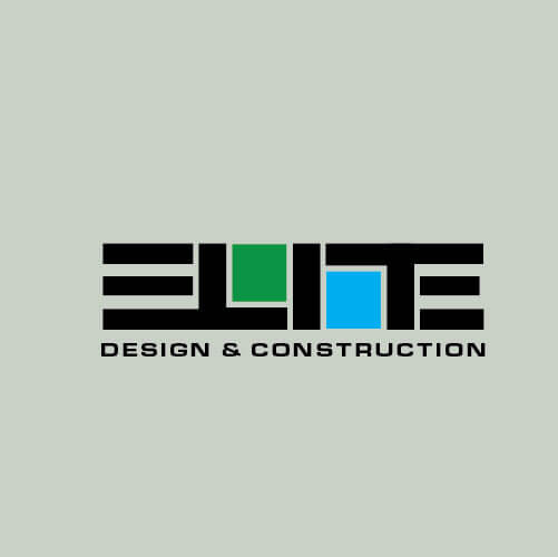 Custom Logo Design for Elite Design & Construction - Logo Design Deck